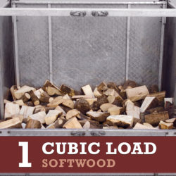 1 cubic load softwood