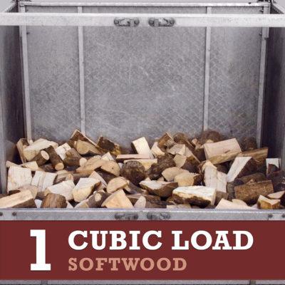 1 cubic load softwood