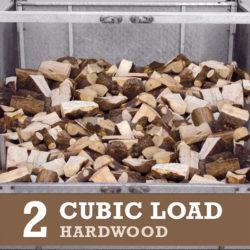 2 Cubic Metre of Hardwood Logs