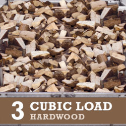 3 Cubic Metre of Hardwood Logs