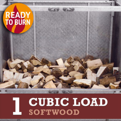 1 cubic metre load softwood