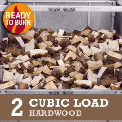 2 cubic load hardwood