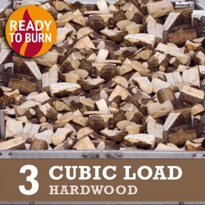 3 cubic load hardwood