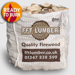 1 bulk bag of hardwood logs